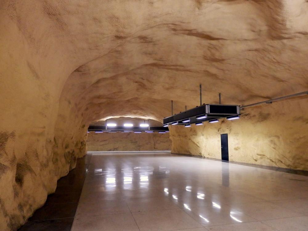 北欧旅行スウェーデン・ストックホルム地下鉄_22
