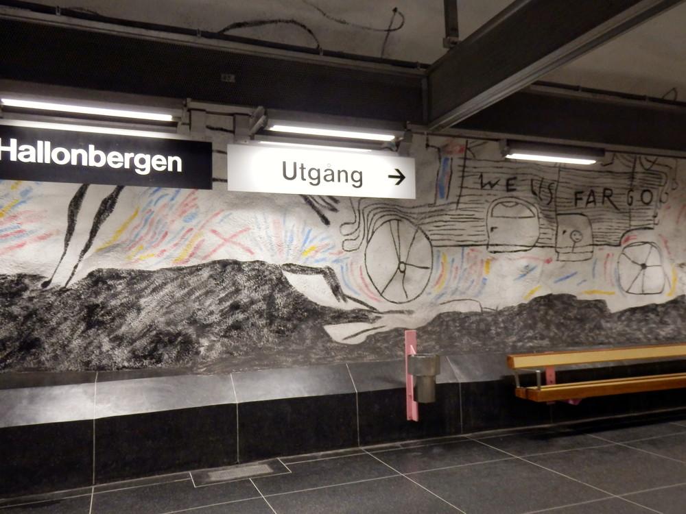 北欧旅行スウェーデン・ストックホルム地下鉄_28