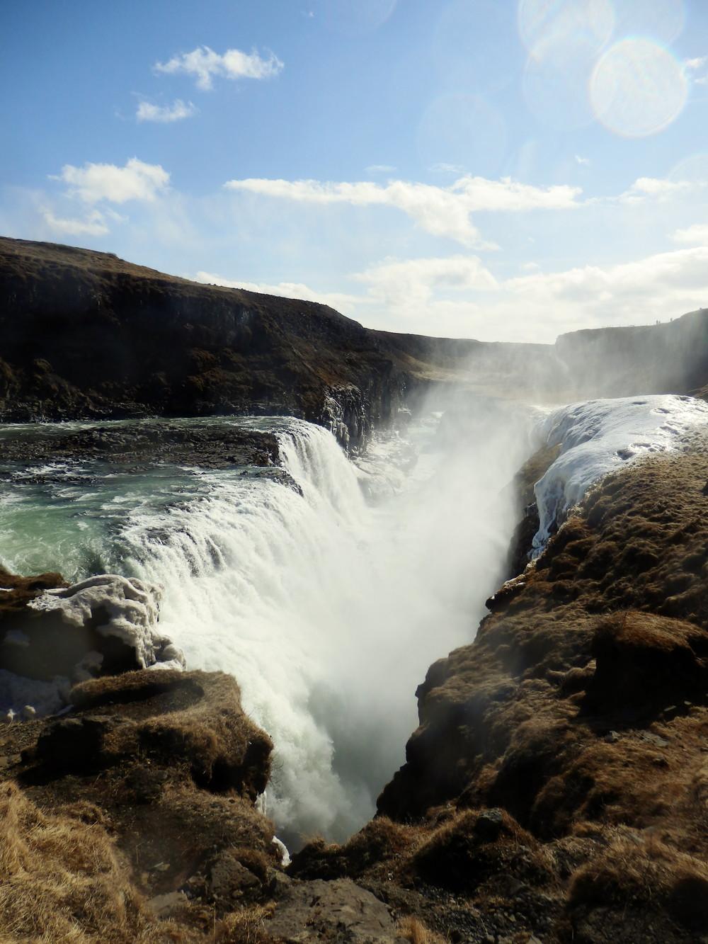 北欧旅行アイスランド・ゴールデンサークル_グトルフォス__11