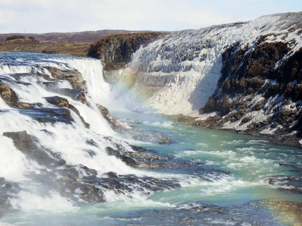 北欧旅行アイスランド・ゴールデンサークル_グトルフォス__18