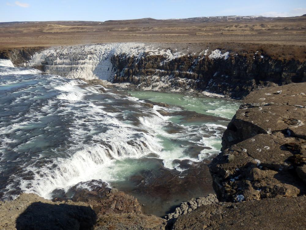 北欧旅行アイスランド・ゴールデンサークル_グトルフォス__26