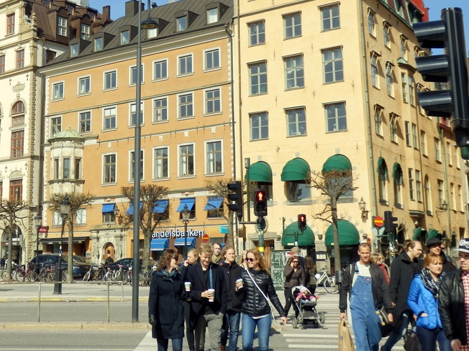 北欧旅行スウェーデン・ストックホルム観光1_44